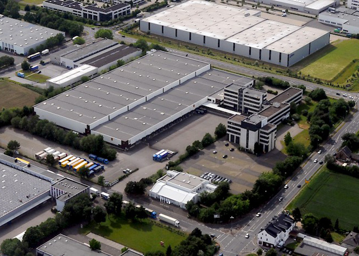 Luftbild Businesspark Neuss